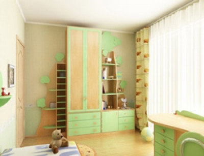 Фото дизайн детской комнаты для девочки и